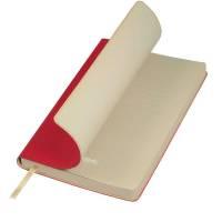 Ежедневник недатированный, Portobello Trend, Latte, 140х210, 256 стр, красный/бежевый
