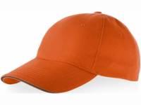 """Бейсболка """"Garnet"""" 5-ти панельная, оранжевый"""