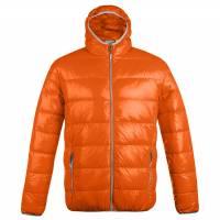 Куртка пуховая мужская Tarner оранжевая, размер M