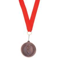 "Медаль наградная на ленте ""Бронза""; 48 см."