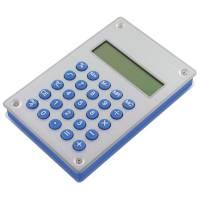 """Калькулятор """"Aqua"""" на энергии воды; 10х15х1,8 см; металл,пластик"""