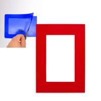 Фоторамка магнитная; красная; 11