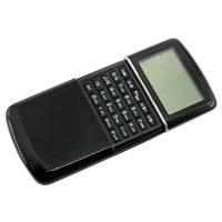 Калькулятор с календарем; черный; 6