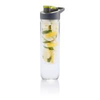 Бутылка для воды Tritan с контейнером для фруктов, 800 мл