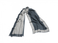 Длинный шарф Bird Blue
