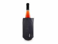 """Охладитель-чехол для бутылки вина или шампанского """"Cooling wrap"""", черный"""