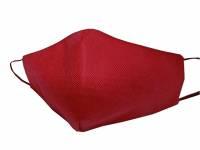 Маска для лица многоразовая из спанбонда, бордовый