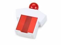 Подставка под скрепки и стикеры «Office-boy», белый/красный