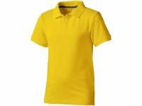 "Рубашка поло ""Calgary"" детская, желтый"