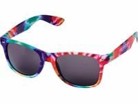 Солнцезащитные очки Sun Ray в пестрой оправе, многоцветный