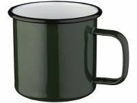 Кружка эмалированная «Emal», зеленый