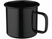 Кружка эмалированная «Emal», черный