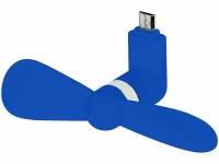 Вентилятор Airing микро ЮСБ, ярко-синий
