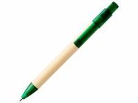 Шариковая ручка Safi из бумаги вторичной переработки, темно-зеленый