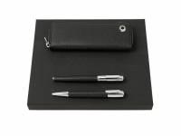Подарочный набор: пенал, ручка шариковая, ручка-роллер. HUGO BOSS