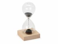 """Песочные магнитные часы на деревянной подставке """"Infinity"""""""