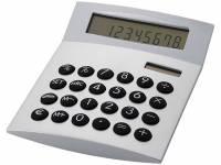 """Калькулятор с конвертером валют """"Face-it"""", серебристый"""