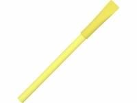 """Ручка картонная с колпачком """"Recycled"""", желтый"""