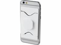 Держатель для мобильного телефона Purse с бумажником, белый