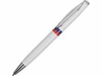 """Ручка шариковая """"Отчизна"""", белый/триколор"""