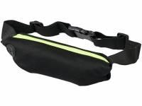 Эластичная спортивная поясная сумка Nicolas, лайм