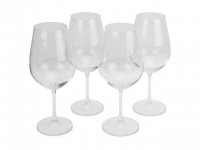 "Набор бокалов для вина ""Crystalline"", 690 мл, 4 шт"