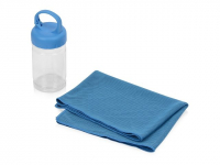 Набор для фитнеса «Cross», голубой