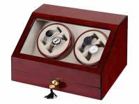 Шкатулка для часов с автоподзаводом «Цюрих», красное дерево