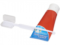 Зубная щетка Dana с выжимателем, белый