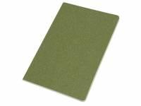 Блокнот А5 «Snow» из переработанного картона, зеленый