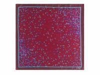 Шелковый платок Tourbillon Bordeaux