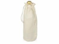 Хлопковая сумка для вина, натуральный