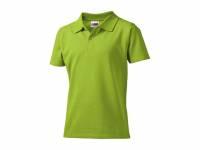 """Рубашка поло """"First"""" детская, зеленое яблоко"""