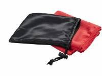 Охлаждающее полотенце Peter в сетчатом мешочке, красный