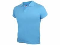 """Рубашка поло """"First"""" детская, голубой"""