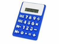 """Калькулятор """"Splitz"""", ярко-синий"""