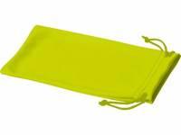 Чехол из микрофибры Clean для солнцезащитных очков, неоново-желтый