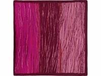 Платок бордовый 520*520 мм в подарочном мешке