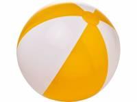 Непрозрачный пляжный мяч Bora, желтый/белый