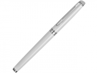 Ручка роллер Waterman «Hemisphere White CТ F», белый/серебристый