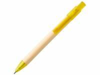Шариковая ручка Safi из бумаги вторичной переработки, желтый