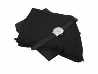 Подарочный набор Celso: шарф, часы наручные мужские. Ungaro