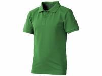 """Рубашка поло """"Calgary"""" детская, зеленый"""