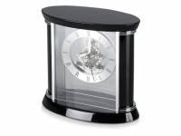 Часы настольные «Ковингтон», черный/серебристый (Р)