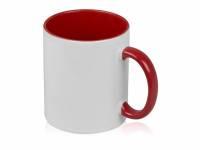 Кружка для сублимации «Sublime Color», белый/красный
