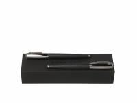 Подарочный набор: ручка перьевая, ручка-роллер. Hugo Boss, черный