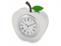 """Часы настольные """"Серебряное яблоко"""", серебристый"""