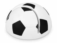 """Подставка для визиток """"Футбол"""", белый/черный"""