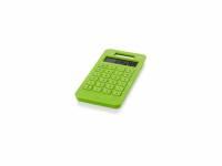 """Калькулятор на солнечной батарее """"Summa"""", зеленое яблоко"""