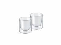 Набор стаканов из двойного стекла тм ALFI 80ml, в наборе 2 шт.